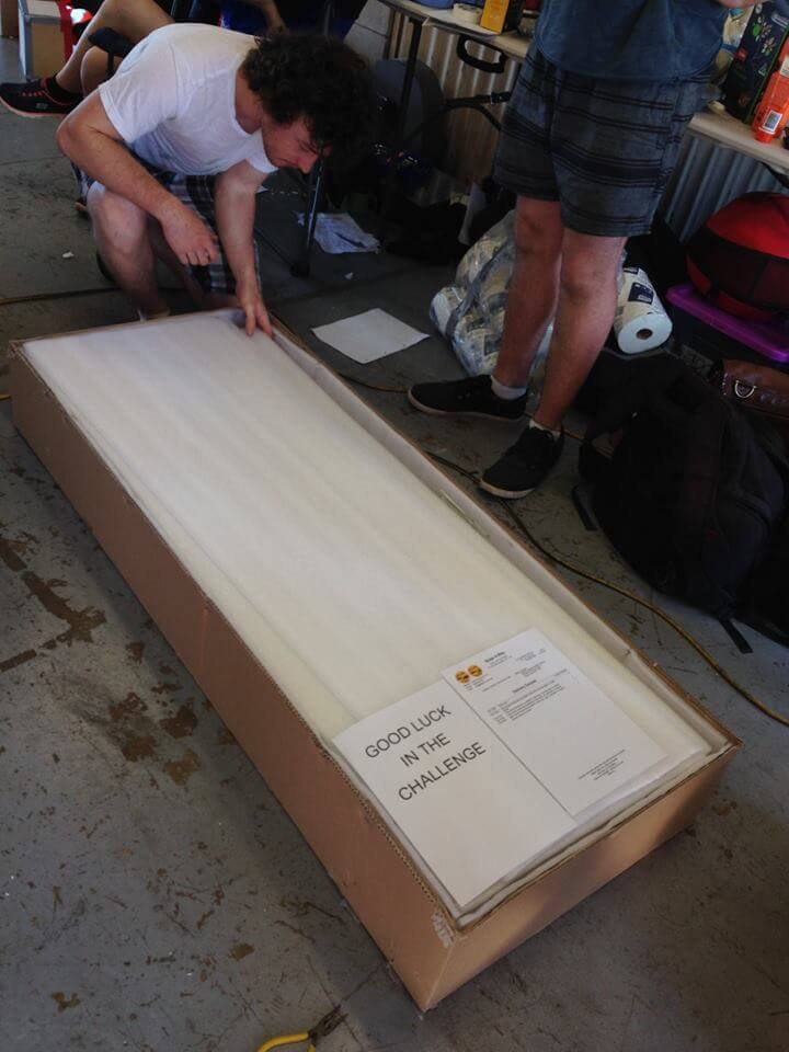 Solar 4 RVs flexible solar panels arrive in Darwin for World solar challenge