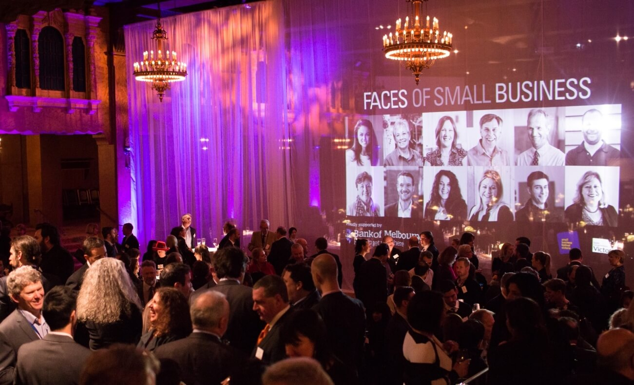 Plaza Ballroom Faces of Small Business Exhibition