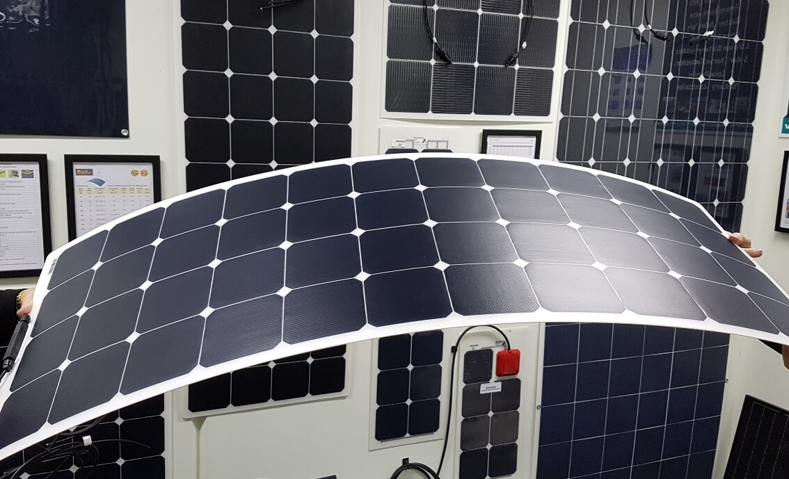 Premium flexible solar panels with ETFE technology for quality