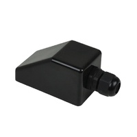Cable entry box - 1 gland black