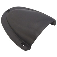 Cable entry clamshell cover - large black