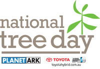 National Tree Day Corporate Planting event