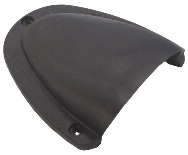 Low Profile Cable Entry Cover Large Black Marine Grade Nylon