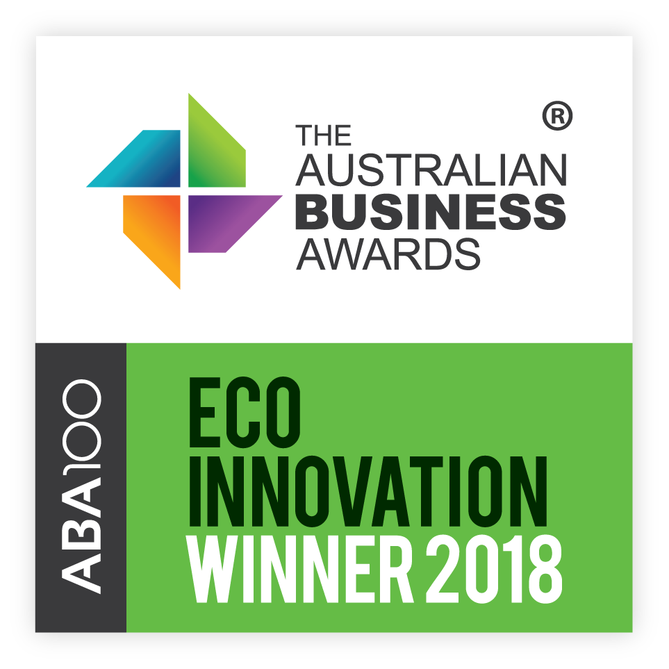 2018 Australian Award Winner for ECO Innovation
