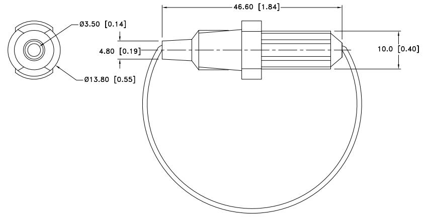 fuse holder cartridge 500v 10a in line
