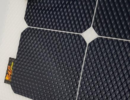 RADpower SunPower cell lightweight solar panel with textured robust ETFE top layer