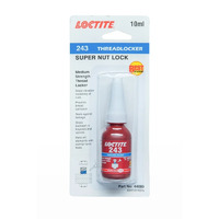 Loctite 243 Blue Medium Strength Threadlocker 10mL
