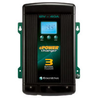 Enerdrive ePower Multi-Bank 12V-40A Battery Charger
