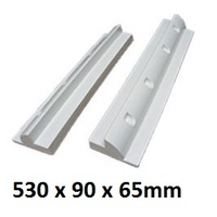 Solar Panel medium side brackets - 530mm