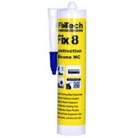 Fix8 Structural Silicone 300ml Cartridge WHITE