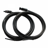 Extension Cable pair, 7metres, PV1-F Cable, Termination 1: MC4 Compatible connector; Termination 2: Cut-end