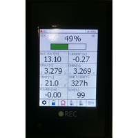 REC BMS LCD Touch Display