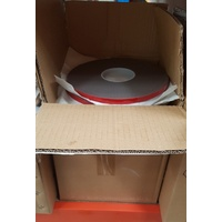 Box of 25 x Acrylic VHB double-sided foam tape 2.3mm thick x 12mm wide x 16.5m length rolls