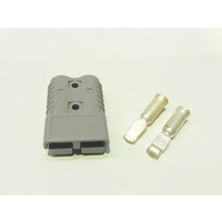 Genuine Connector Anderson Grey with 6AWG (6B&S) Contacts