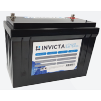 Invicta Lithium 12V, 125Ah, Series Capable Battery
