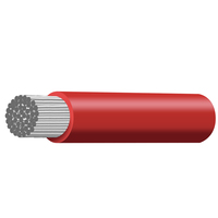 Cable Marine (tinned copper) TCW single Core 8 B&S red - 7.91mm2