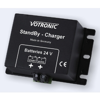 24V Votronic Standby Charger for trickle charging from house battery to start battery