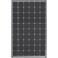 Sunman eArc 290W - Flexible Solar Panel - Thin Frame Around Perimeter & Junction Box Underneath