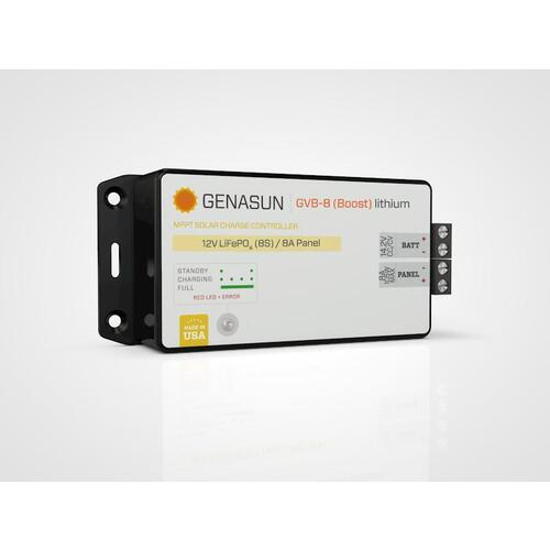 8A MPPT 24V (28.4V) BOOST for Lithium Genasun Solar Charge Controller