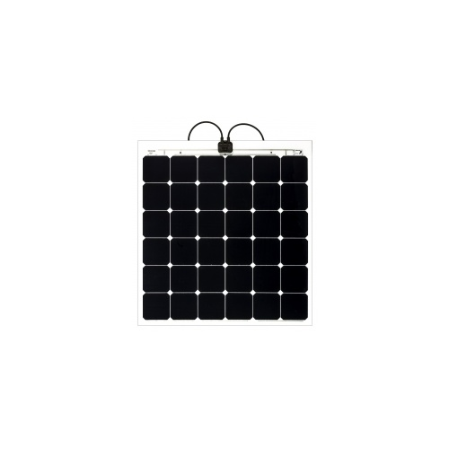 Solbian SP 112W Square - Textured Surface, Wires Under+SP118QWQT+SP112L, 100W, 110W, Solbianflex, Solbian, SunPower, flexible, panel,,flex, thin, lightweight, solar panel, highest efficiency