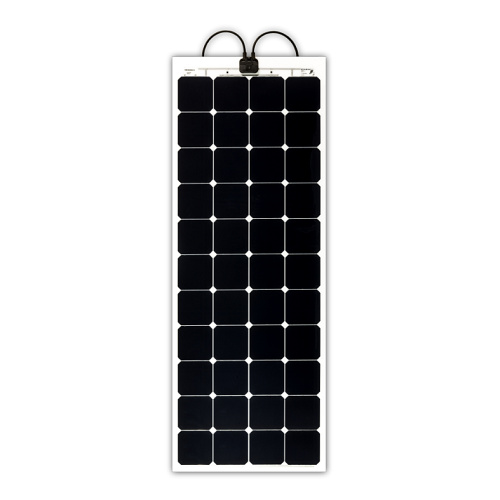 SP 144W SunPower cells, 1490x546x2mm, 1.9kg (Vmp 25.3V  Imp 5.7A) Solbian