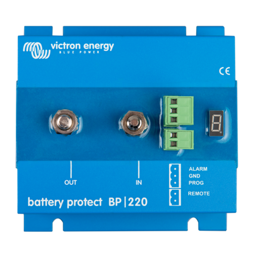 Victron Battery Protect 65A/100A/220A 12/24V+Vic-BatteryProtect+battery, protection, low voltage