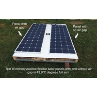 Flexible Solar Panel product testing