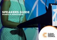 Women in Renewable's Speakers Guide listing