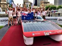 World Solar Challenge racing team