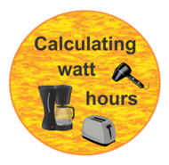 Calculating watt hours