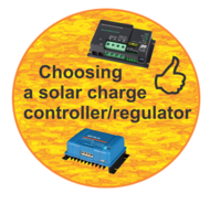 Choosing the right solar charge controller/regulator