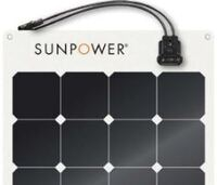 Genuine SunPower lightweight solar panels now available in Australia
