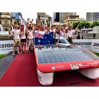 Adelaide University Solar Racing Team complete 2015 World Solar Challenge